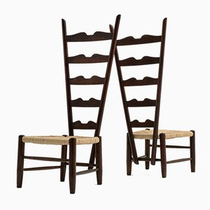 Fireside Chairs by Gio Ponti for Casa e Giardino, 1939, Set of 2