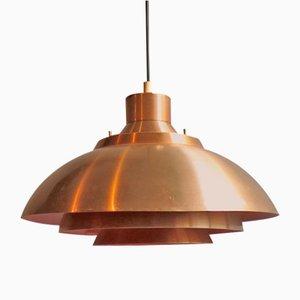Mid-Century Layered Pendant Lamp, 1960s