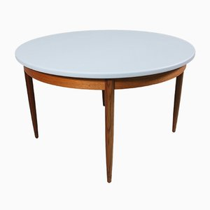 Mid-Century Round Painted Teak Dining Table from G-Plan, 1960s