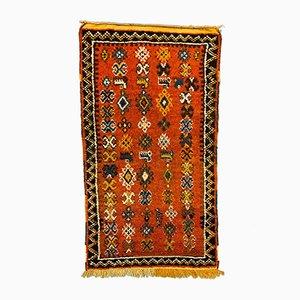 Vintage Moroccan Tazenacht Berber Atlas Tribal Rug, 1970s