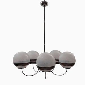 Vintage 5-Sphere Ceiling Lamp by Lamberti