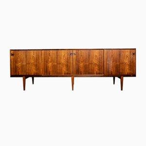 Rosewood Sideboard by Henry Rosengren Hansen for Brande Møbelindustri, 1950s