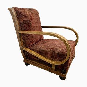 Vintage Sessel und Ottoman Set von Josef Hoffmann