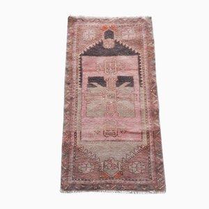 Türkischer Niedriger Türkischer Teppich, 1970er