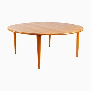 Mid-Century Solid Teak Coffee Table from A/S Mikael Laursen