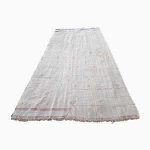 Türkischer Vintage Hanf Sisal Kilim Teppich, 1970er