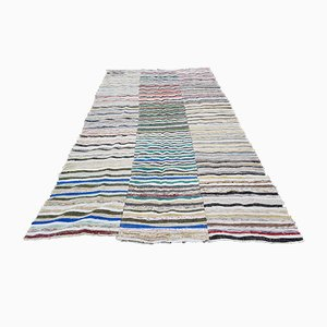 Turkish Kilim Rag Rug, 1970s