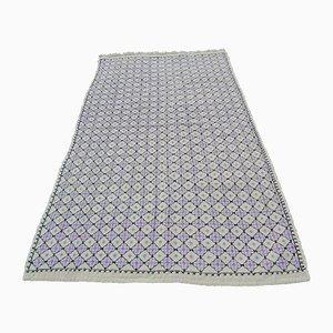Vintage Turkish Jajim Flat Weave Rug, 1970s