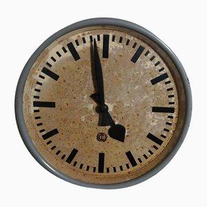Horloge d'Usine Industrielle Vintage de CTW, Allemagne, 1950s