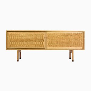 Danish Oak and Rattan Model RY26 Rosewood Sideboard by Hans J. Wegner for Ry Møbler, 1960s