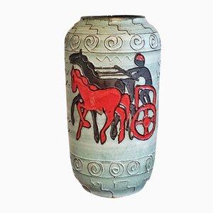 Mid-Century Nr. 546/50 Floor Vase with Roman Charioteer from Scheurich