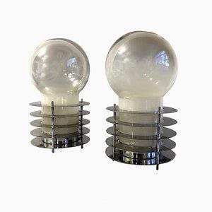 Lampes de Bureau Space Age, 1970s, Set de 2