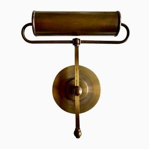 Art Deco Brass Piano Lamp by Robert Pfäffle, 1930s
