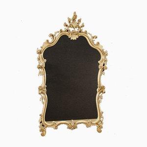 Espejo italiano dorado, años 60
