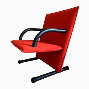 Postmoderne T-Line Stühle von Burkhard Vogtherr für Arflex, 1980er, 2er Set