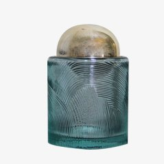 Kristallglas Zigarettendose von Sergio Asti, 1960er