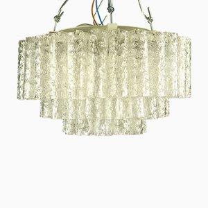 Vintage Pyramic Deckenlampe aus Röhrenglas von Doria Leuchten, 1960er