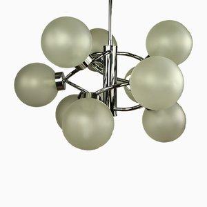 Vintage Sculptural Sputnik Chandelier, 1970s