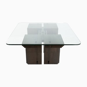 Art Deco Dining Table by Umberto Asnago for Giorgetti, 1982