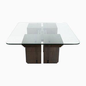 Table de Salle à Manger Art Déco par Umberto Asnago pour Giorgetti, 1982