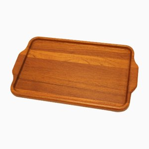 Mid-Century Danish Model 808 Teak Tray from Digsmed