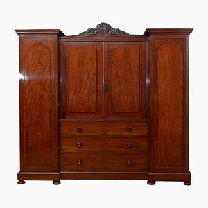 Armoire William IV en Acajou