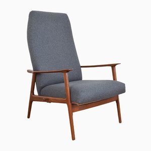 Mid-Century Danish Teak Lounge Chair, 1960s.