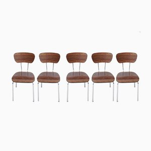 Formica Dining Chairs, 1960s, Set of 5