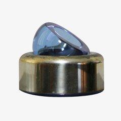 Aschenbecher aus Kristallglas von Joe Colombo, 1968