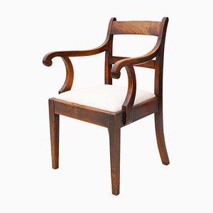 19th Century Georgian Mahogany Office Desk Chair