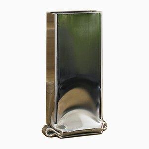 Große Pressure Vase aus Chrom von Tim Teven Studio