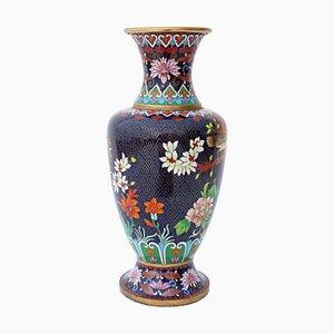 Große antike orientalische Cloisonne Vase
