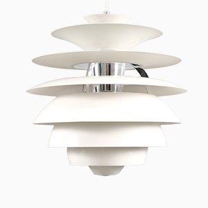 Plafonnier Boule de Neige Vintage par Poul Henningsen pour Louis Poulsen
