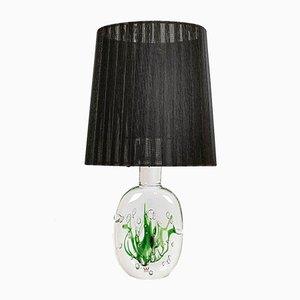 Lampe de Bureau Modèle Seaweed Mid-Century par Vicke Lindstrand pour Kosta, Suède, 1950s