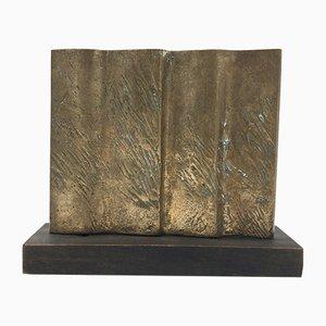 Sculpture Vintage en Bronze par Bruno Liberatore, Italie, 1990s