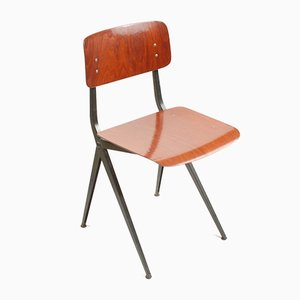 Mid-Century Industrial Dining Chairs from Marko, Set of 4