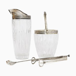 Ice and Mixing Glass Set, 1960s