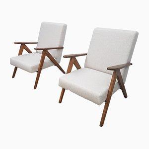 Mid-Century Model B 310 VAR Easy Chairs from Zakłady Mebli Giętych Radomsko, 1960s, Set of 2