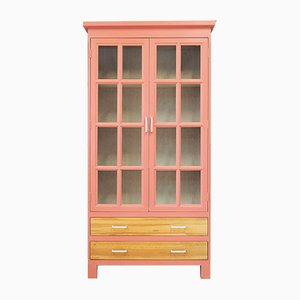 Vintage French Oak Cabinet, 1980s
