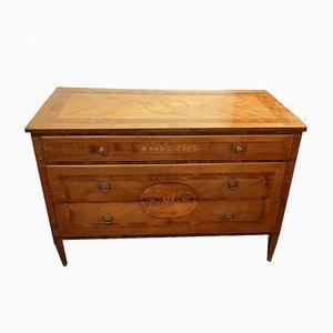 Comò Luigi XVI antico in legno intagliato