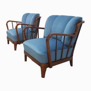 Mid-Century Lounge Chairs from Walter Knoll / Wilhelm Knoll, 1950s, Set of 2