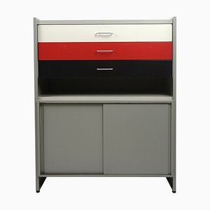 Mid-Century Metal Storage System by A.R. Cordemeijer for Gispen, 1950s