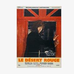 Póster de la película Le Désert Rouge de Michelangelo Antonioni, 1964