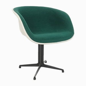 Emerald Green Model La Fonda Dining Chair by Charles Eames & Alexander Girard for Herman Miller, 1960s