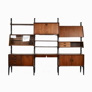 Mid-Century Wall Unit by Louis van Teeffelen for WéBé, 1970s