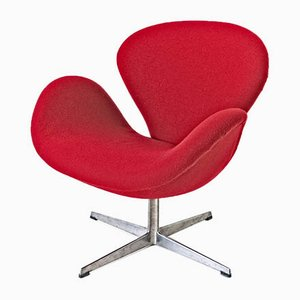 Danish Swan Armchair by Arne Jacobsen for Fritz Hansen, 1969