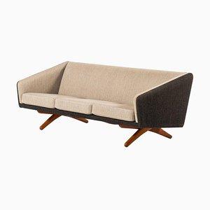 Canapé par Illum Wikkelsø pour Michael Laursen, Denmark, 1960s