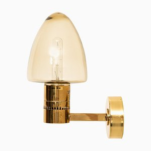 Modell V-220 Wandlampe von Hans-Agne Jakobsson, Schweden, 1950er
