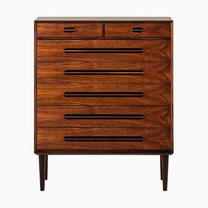 Rosewood Model 91 Cabinet by Ejvind A. Johansson for Gern Møbelfabrik, Denmark, 1950s