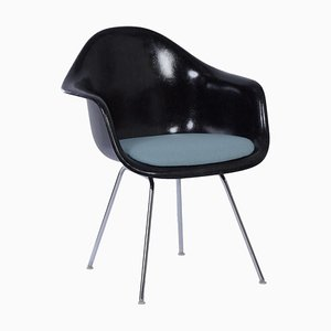 Black DAX Armchair by Charles & Ray Eames for Herman Miller, 1970s
